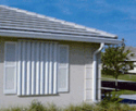 Vero Beach Storm Panels - Aluminum and Clear